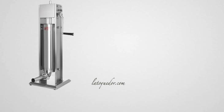 Poussoir à saucisse inox vertical 7L