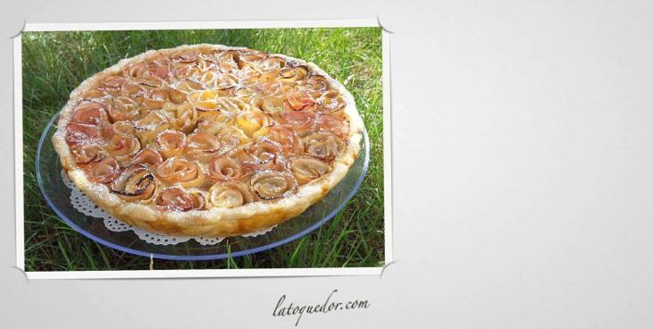 Tarte aux pommes flowers