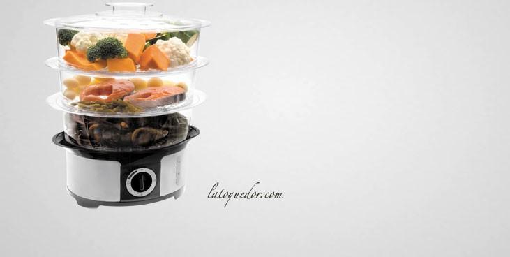 cuit vapeur lectrique 3 niveaux cuiseur riz et cuit. Black Bedroom Furniture Sets. Home Design Ideas