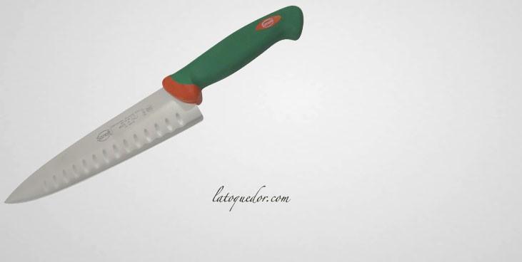 Couteau de chef alvéolé Sanelli