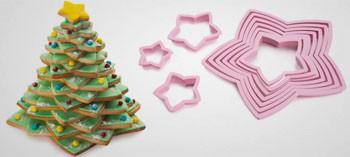 Emporte pièce sapin de Noël 3D