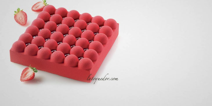 Moule silicone 3D bulles Silikomart