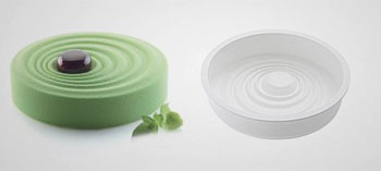 Moule silicone vague 3D Silikomart