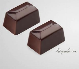 Rectangle professionnel polycarbonate Chocolat Bon Bon Moule 24 Cavités