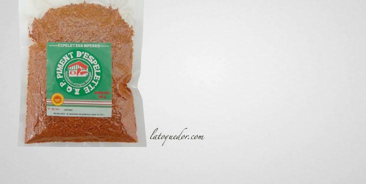 Piment d'Espelette en poudre 250 g