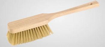Brosse à dorer soie blanche