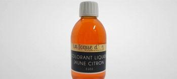 Colorant liquide jaune citron 250 ml