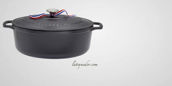 Cocotte en fonte ovale noire - Sublime Chasseur