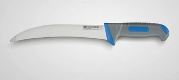 Couteau tripier arrondi bi matière Fischer Sandvik