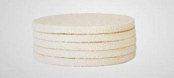 Feutre de rechange pour tampon d'essuyage (x5)
