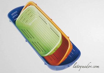 Banneton rectangulaire polypropylène