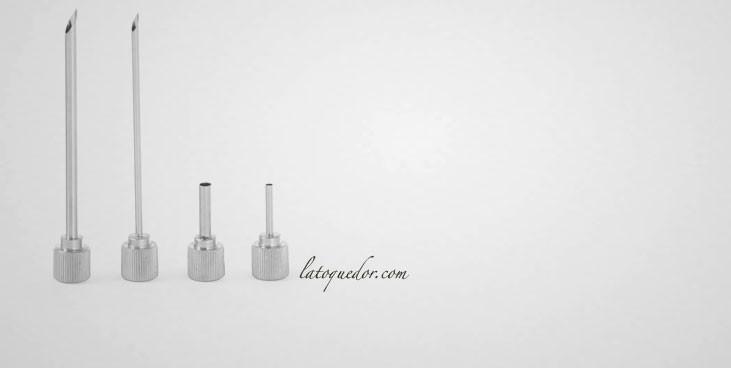 Douille à garnir pour siphon Profil Line (x4)