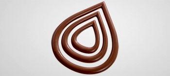 Plaque Pour Decor Chocolat Forme Goutte D Eau Moule Pour Decors En