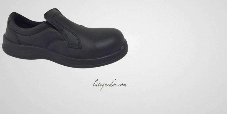 Chaussures de cuisine sécurité noires Bristol