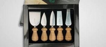 Coffret 5 couteaux à fromages Sanelli (x5)