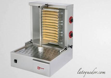 Grill à kebab gaz Diamond 20 Kg