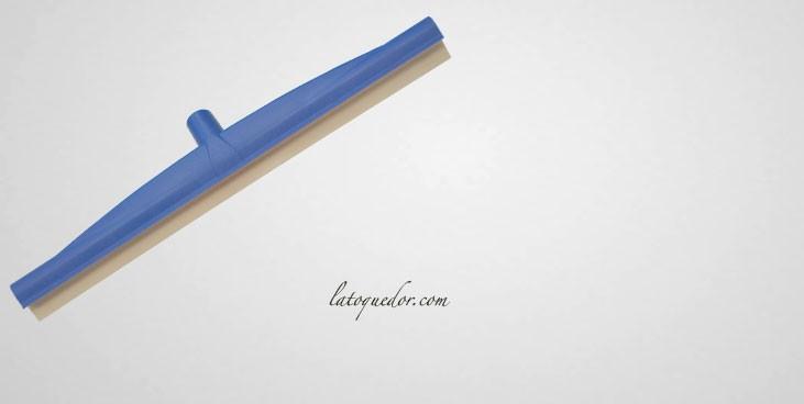 Raclette de sol monolame bleue