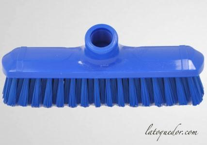 Balai brosse professionnel bleu 22 cm