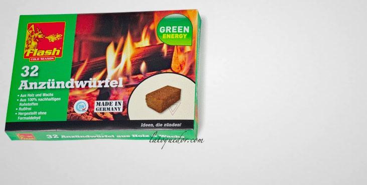 Allume feu naturel pour fumoir