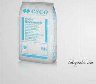 Gros sel alimentaire blanc 25 kg