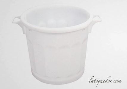 Conteneur poubelle plastique avec poignées - Gilac