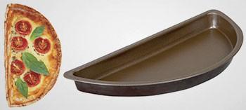 Moule demi tarte bord lisse anti-adhésif - Gobel