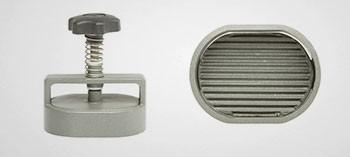 Moule à steack haché modèle ovale