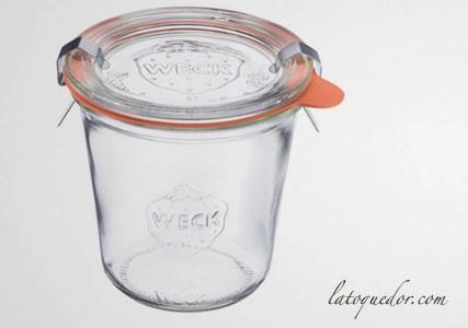 Bocaux avec couvercle verre 290 ml (x4)