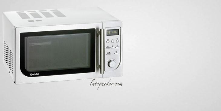 Four micro-ondes 25L avec grill et air chaud 1400W - Bartscher