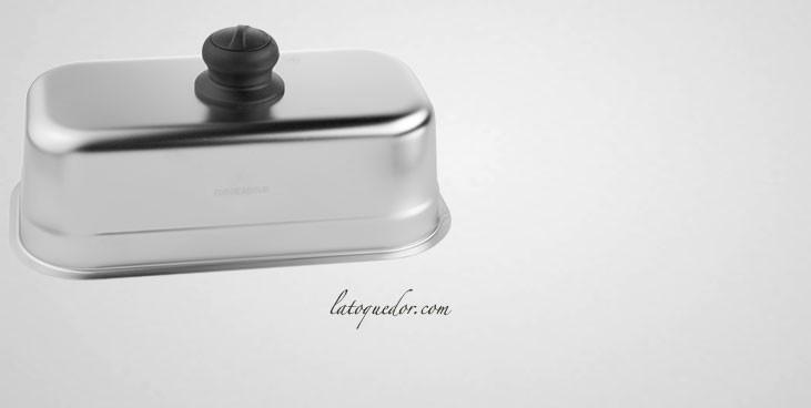 Cloche cuiseur inox rectangulaire Forge Adour pour plancha