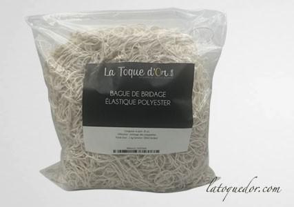 Bagues de bridage élastique polyester