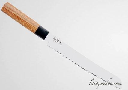 Couteau à pain Seki Magoroku Redwood - Kaï