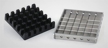 Grille inox pour coupe frites ménager