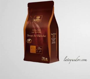 Drops de chocolat noir 50% Cacao Barry