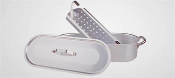 Poissonnière professionnelle en aluminium - Pantole Agnelli