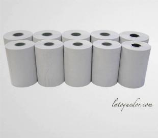 Rouleaux papier thermique TPE 57x40x12 (x10)