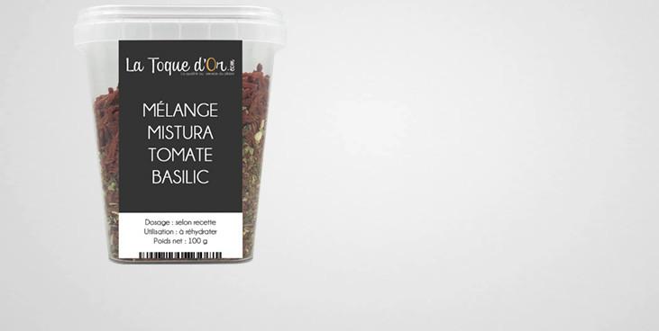 Mélange Mistura tomate basilic