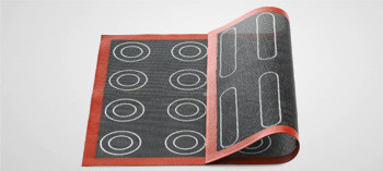 Toile de cuisson silicone perforée spéciale choux et éclairs - Silikomart