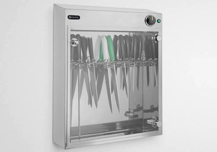 Armoire stérilisateur à couteaux UV 14 pièces