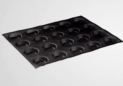 Moule silicone micro perforé 20 ronds 50 mm- Martellato (x2)