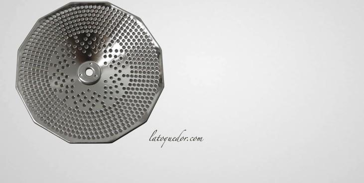 Grille inox 2,5 mm pour moulin à légumes n°3