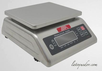 Balance inox double affichage 30 kg