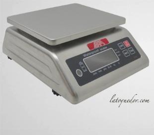 Balance inox professionnelle EXA - 15 Kg / 5g