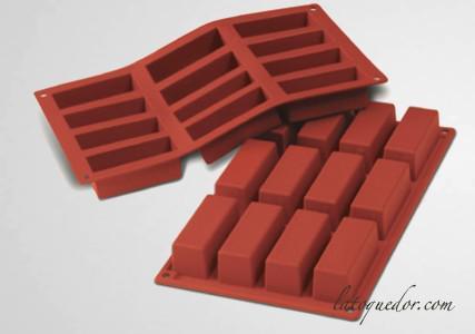 Moule silicone 12 mini cakes Silicon Flex