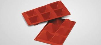 Moule silicone 6 pyramides Silicon Flex