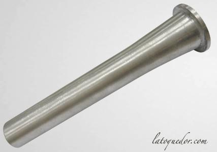 Canule aluminium poussoir à saucisse 30 mm