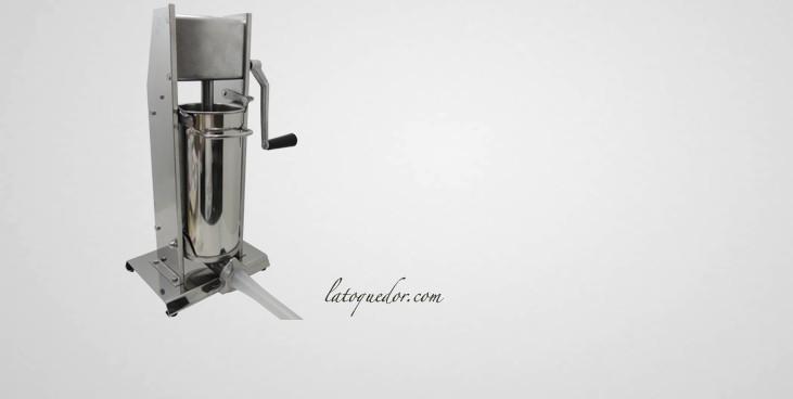 Poussoir à saucisse professionnel inox vertical 5L
