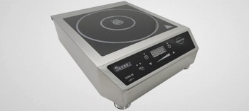 Plaque induction professionnelle inox 3500W