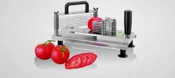 Mini coupe tomates professionnel inox