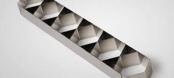 Attelage inox 6 nonnettes hexagonales